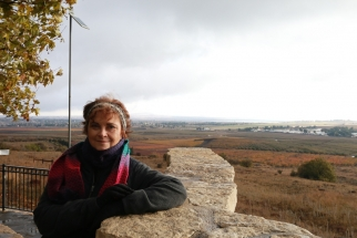 Golan Heights overlooking Syria