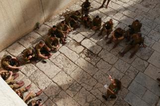 IDF soldiers in Jerusalem