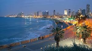 Tel Aviv, Israel After Sunset
